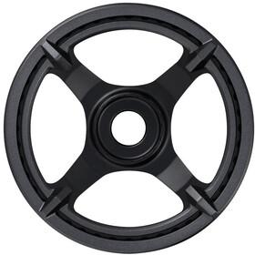 Shimano STEPS E6100 Eturatas Cl:46,5mm 1-vaihteisella ketjusuojalla, black